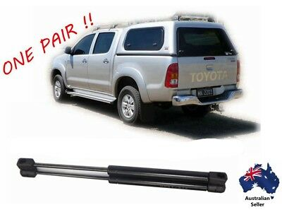 2 x NEW Gas Struts suit ARB Canopy REAR window 325mm long 160N 1921VR inc Hilux