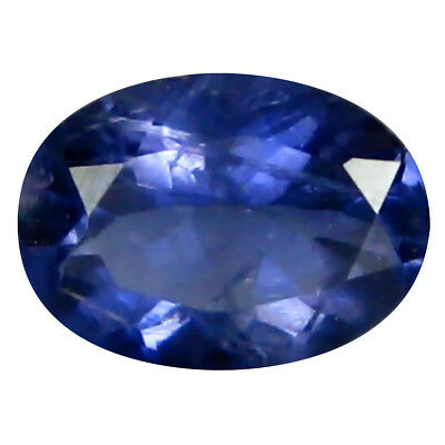 0.47 ct AAA Magnificent Oval Shape (6 x 4 mm) Iolite Natural Loose Gemstone