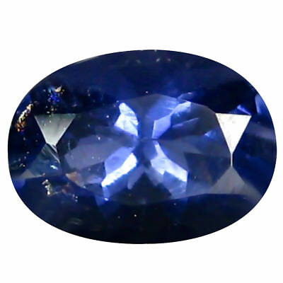 0.74 ct AAA Very good Oval Shape (7 x 5 mm) Iolite Natural Loose Gemstone
