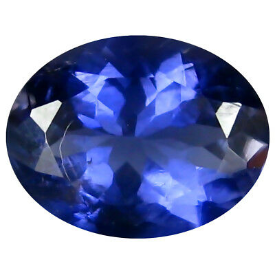 1.57 ct AAA Charming Oval Shape (9 x 7 mm) Iolite Natural Loose Gemstone
