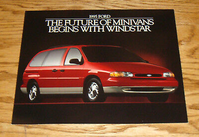 Original 1995 Ford Windstar Minivan Sales Sheet Brochure 95