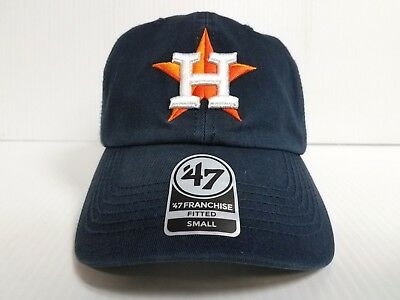 the latest 72ccb 49f7f Houston Astros New Franchise  47 Brand Fitted Cap Unstructured Navy Hat MLB