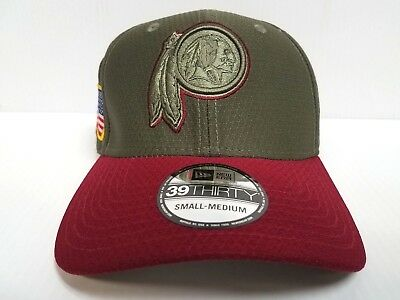 new style 628f6 f972d Washington Redskins Cap Era 39Thirty Stretch Fitted 2017 Salute to Service  Hat