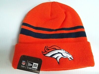 659c7eb2a14 ... get denver broncos new era knit hat striped cuff beanie stocking cap nfl  e51fe beb3f ...