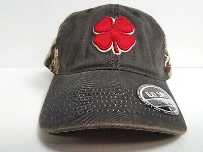 1e420875e8b Black Clover Cap Vintage Hunt Lucky Camo Realtree Adjustable Golf Hat Live