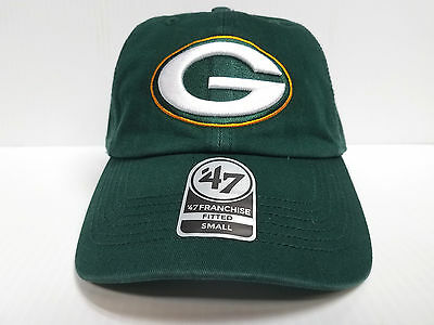 a75de15c5321c Green Bay Packers New Franchise  47 Brand Fitted Cap Unstructured Green Hat  NFL