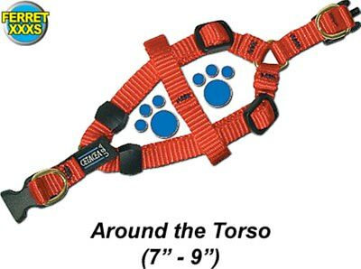 Step-In Ferret Harness - Ferret Size -Extra Extra Small - Asst colors - PTH38SAH