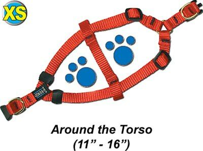 "Step-In Pet / Dog Harness - Extra Small 11 - 16"" - Assorted colors - PTH38QR2"