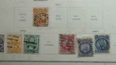 BOLIVIA HUGE Stamp collection/accumulation on various pages + glassines, etc 700
