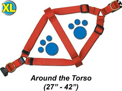 "Step-In Pet / Dog Harness - Extra Large 27 - 42"" - Assorted colors - PTHXQR2"