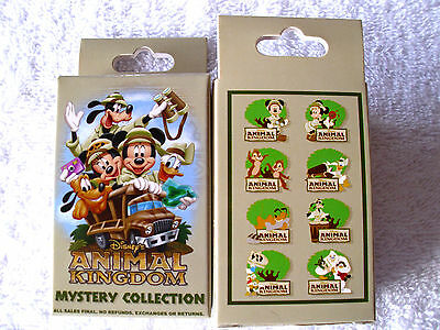 Disney * MICKEY & FRIENDS - ANIMAL KINGDOM * New Unopened 2-Pin Mystery Box