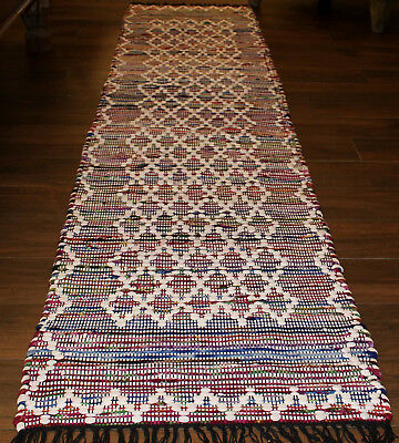 *REDUCED*  Recycled  Cotton  Hall Runner Rug   * 3 m  x  0. 65 m *  BRAND NEW