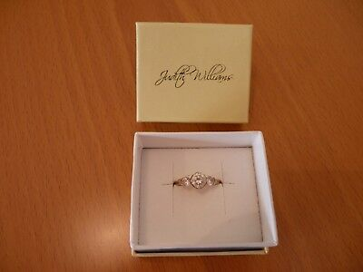 Judith Williams Ring Silber 925 vergoldet OVP Schmuckverp. Damenring TOP-Zust.!!