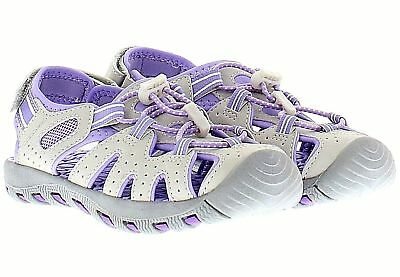 778def6572a8 BRAND NEW KHOMBU Kids Athletic Active Girls Purple Sandals -  5.00 ...