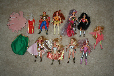 Vintage She-Ra Princess of Power Figure Lot - Y609