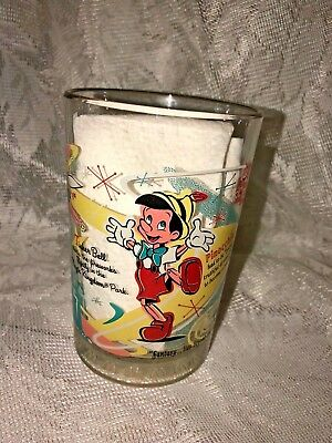 McDonald's Walt Disney World, Pinocchio, 100 Years of Magic Drinking Glass