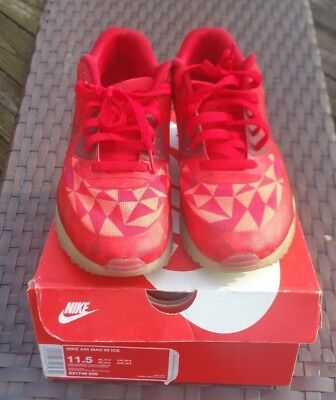 the best attitude 7a418 dc75f Nike Air Max 90 Ice Gym Red 11.5 631748-600