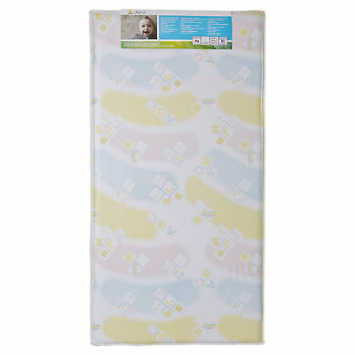 Dream On Me Vinyl 5-inch Printed Foam Standard Crib and Toddler Mattress