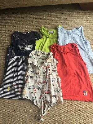 Bundle Of Girls Tops Age 4, Fat Face, Next, Mothercare