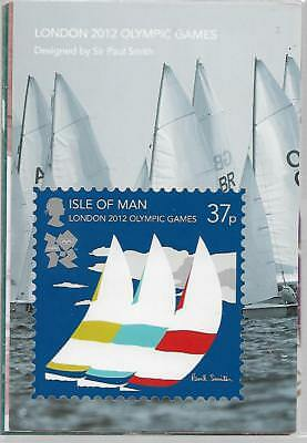London 2012 Olympic Games Stamp Card Set In Sellophane Unopened Ref 1770