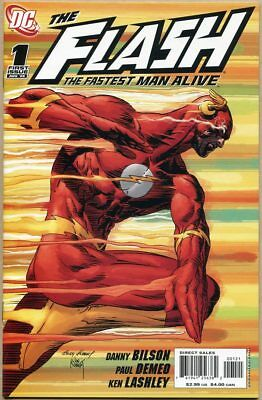 Flash: The Fastest Man Alive #1 - VF+ - Kubert Variant