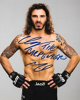 Clay Guida signed UFC 8x10 photo autographed The Carpenter 2