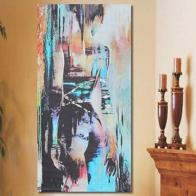 Abstract Art Woman Girl Back Canvas Oil Print Painting Picture Home Wall Decor