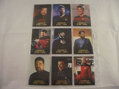 Legends of Star Trek Commander William Riker  L1-L9 0928/1701