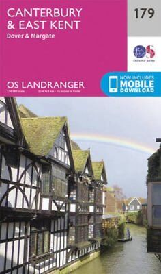 Canterbury & East Kent, Dover & Margate by Ordnance Survey 9780319262771