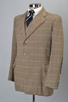 Campbell's of Beauly 1937 Dated Heavy Tweed Jacket & Waistcoat. Ref HPB