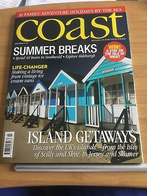 Coast Magazine = July 2018 = Summer Breaks = 10 Family Holidays By The Sea