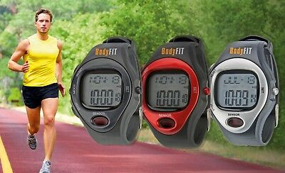 Fitness Watch Tracker Clock Alarm Calendar Calorie Counter Band Pulse Body Fit