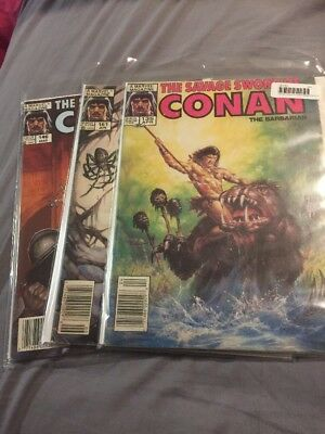 The Savage Sword Of Conan Lot 146 161 135 Awesome Covers