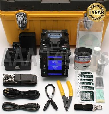 Fujikura FSM-60S SM MM Core Alignment Fiber Fusion Splicer w/ Cleaver FSM-60 FSM