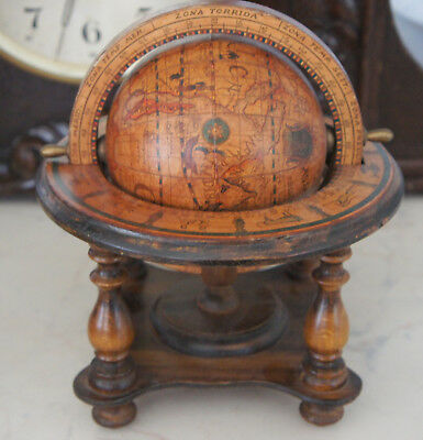 olde world globe made in italy
