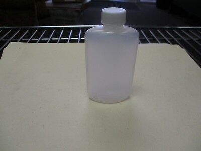 Silgan Plastic S8 New 2 oz Oval Plastic Test Bottles w/cap (QTY 10)