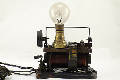 Rare Antique 1916 Tesla Edison Era Full Wave Magnetic Rectifier