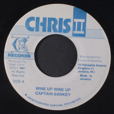 CAPTAIN BARKEY: Wine Up Wine Up / Oily Dolphin 45 (Jamaica, dancehall) Reggae