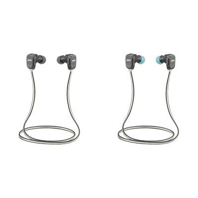 JAM Transit Fitness Sports In-Ear Wireless Bluetooth Headphones - Black/Blue.