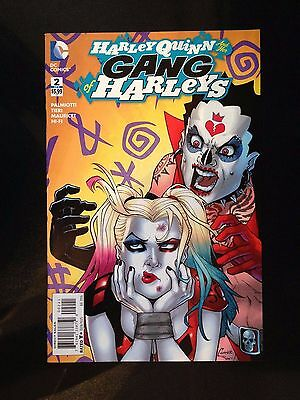 HARLEY QUINN AND HER GANG OF HARLEYS #2, CONNER 1:25 VARIANT, New, DC (2016)