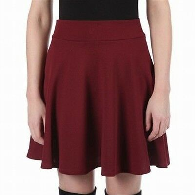 e33c722dfe Freestyle Revolution NEW Red Wood Junior's Size XL A-Line Skater Skirt $30  #215