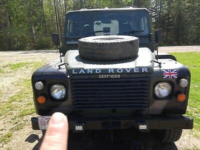 Land Rover: Defender BRITISH ARMY LANDROVER LAND ROVER 1986 DEFENDER 90 MANY NEW PARTS