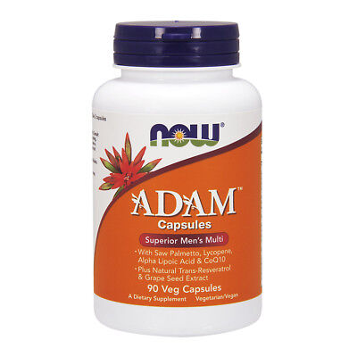 NOW FOODS ADAM Multi-Vitamin for Men 90 Vcaps - VITAMINE