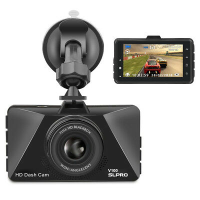 Full HD 1080P Dashcam Autokamera Video Recorder Parkmonitor Loop-Aufn. G-Sensor