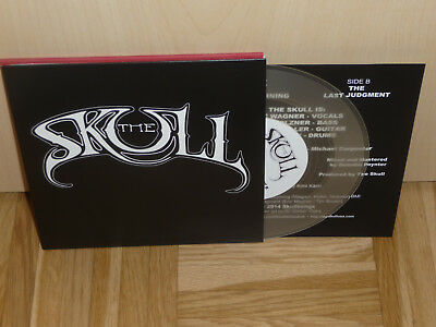 """The SKULL sometime yesterday mourning  CLEAR 7"""" Single NEW only 100"""