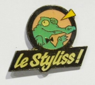 Pins Crocodile Le Styliss Discotheque ? 89 Rouvray ?