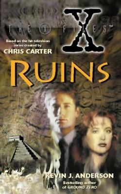 The X-Files - Ruins - Kevin J Anderson - harper - Good - Paperback