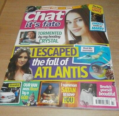 Chat It's Fate magazine #8 JUL 2018 Change your Luck with Magic, Healing Crystal