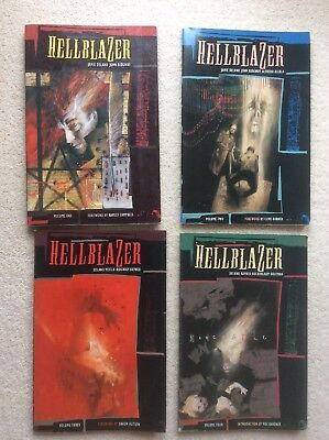 Hellblazer Volumes 1-4 Collection UK British Edition First Printing Collectable