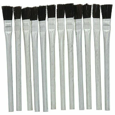 12 pc. Disposable Acid Brush for Craft,Glue,Epoxy,Paint,Flux brush and more